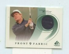 JOHNNY MILLER 2002 Upper Deck SP Game Used Edition Front 9 Fabric Relic #F9S-MI