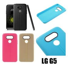 For LG G5 - Luxury Gel TPU Rubber Silicone Matte Protective Case Cover Slim Fit