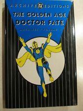 Golden Age Doctor Fate Archives Volume 1 HC More Fun DC Comics JSA Gardner Fox