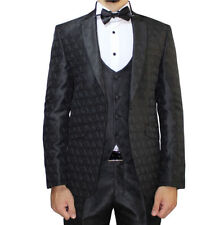 Paisley One Button Regular Length Suits & Tailoring for Men