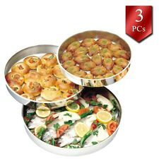 Baking Round Pans for Cake and Pie, High-Quality Stainless-Steel Oven Pans Set