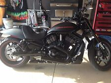 Toxic Inc Black Double Barrel V-ROD Exhaust Pipes vrod