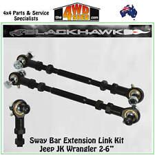 "Blackhawk 4x4 Sway Bar Extension Link Kit fit Jeep JK Wrangler 2-6"" STBJK02R"