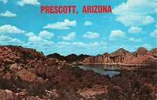 Postcard Watson Lake Prescott Arizona