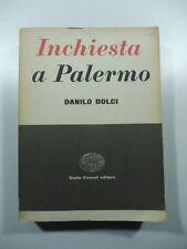 Inchiesta a Palermo, D. Dolci, Giulio Einaudi Editore, 1956