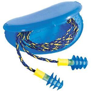 5 Pairs Reusable Earplugs Howard Leight Fusion Regular Corded Ear Plugs 28db