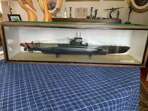 LARGE U BOAT (U-570 ) MODEL SCALE 1.96,LATER HMS GRAPH.