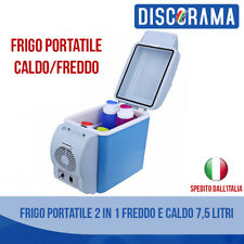 FRIGO PORTATILE 2 IN 1 FREDDO E CALDO 7,5 LITRI AUTO CAMPER DA VIAGGIO FREEZER