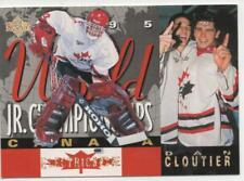 1994-95 UPPER DECK - ELECTRIC ICE - DAN CLOUTIER ROOKIE CARD!