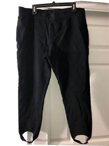 Chicos stirrup stretch pants sz 3