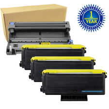 1x DR620 Drum+ 3x TN650 Toner for Brother HL-5340D HL-5350DN HL-5370DW HL-5380DN