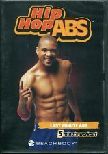 Hip Hop ABS BRAND NEW SEALED DVD Last Minute Workout Shaun T Beach Body