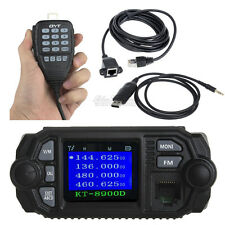 QYT KT-8900D Car Mobile Radio Dual Band+USB Programme Cable+3m Microphone Cable