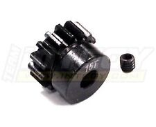 C23205 Billet Steel Pinion Gear 15T, 1M/5mm Shaft for 1/8 Off-Road & Savage Flux