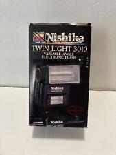 Nishika Twin Light 3010 Variable-Angle Electronic Flash - 1989