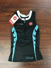 Castelli Body Paint Tri Singlet Women's Small New with tags