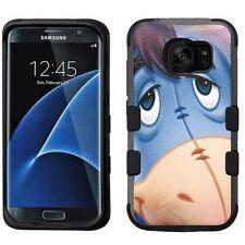 for Samsung Galaxy S7 Edge Armor Impact Hybrid Cover Case Eeyore Donkey