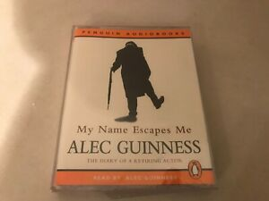 My Name Escapes Me The Diary of a Retiring Actor by Alec Guinness Audio Book