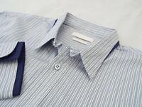 "ALEXANDER McQUEEN Mens Shirt 🌍 Size 48 (CHEST 42"") 🌎 RRP £295+ 📮 STRIPED"