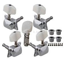 Set Semiclosed Banjo Machine Head Tuning Tuner Peg w/ Bushing Guitar Parts