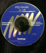 ✅*Brother Pe-Basic Used Disc* Good Condition * Fast Shipping