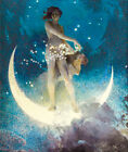 Spring Scattering Stars by Edwin Howland Blashfield, Canvas Print, various sizes