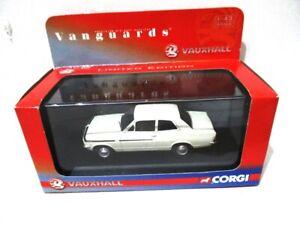Corgi Vanguards Vauxhall Viva  Bramham  Grecian White   VA08709   RARE