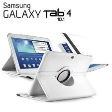 "FUNDA + PROTECTOR TABLET SAMSUNG GALAXY TAB 4 10.1"" T530 GIRATORIA 360º BLANCO"