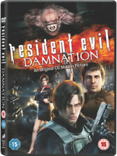 Resident Evil: Damnation DVD (2012) Makoto Kamiya cert 15 ***NEW*** Great Value
