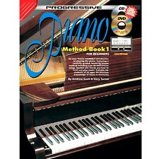 More details for digital piano - electric piano - keyboard beginners piano method book with cd h8