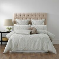 Bianca Balerno Quilt Cover Set Taupe