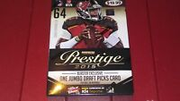2015 PANINI Prestige  Football 8 Pack  Blaster Box Todd Gurley RC Autos Possible