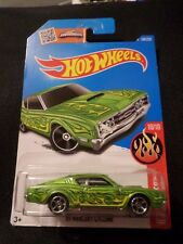 HW HOT WHEELS 2016 HW FLAMES #10/10 '69 MERCURY CYCLONE HOTWHEELS GREEN VHTF