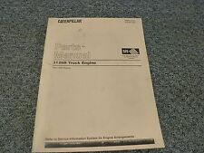 Caterpillar Cat 3126B Truck Diesel Engine Parts Catalog Manual 7AS1-13352