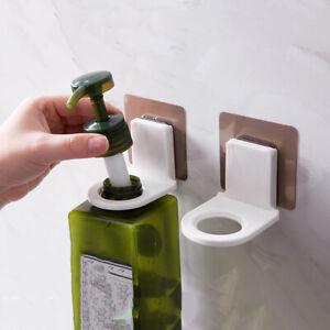 Hanger Holder Soap Bottle Hanging Shampoo Wall Mounted Organizer Hook
