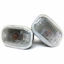 JDM Toyota 90-99 MR2 Turbo SW20 Clear Side Markers Lenses Lights Pair Genuine