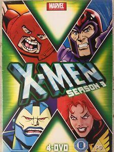 X-Men Season 3 Series Brand new and Sealed Animated cartoon Marvel Region 2