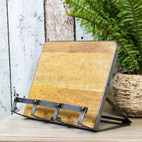 Industrial Recipe Cookbook iPad Tablet Stand Rest Holder Baking Cookery Book
