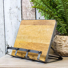 Industrial Recipe Cookbook iPad Tablet Stand Rest Holder Cookery Baking Book
