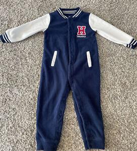 Carters Baby Boy Fleece Jumpsuit 18 Months