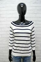Ralph Lauren Maglia Donna XL Slim Pullover Manica 3/4 Maglione Woman Cardigan