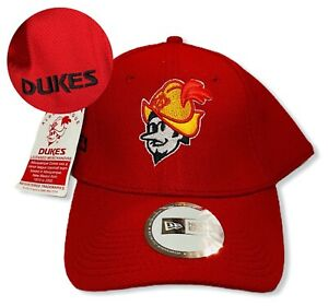 New Era Albuquerque Dukes Sz L-XL Red Gold Wool MiLB 59Fifty Fitted Hat 2011 NWT