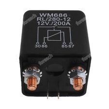 RL/280-12 Batterie Trennrelais /200A Spitzenlast für PKW BOOT CAMPING WOHN Auto