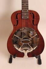 Resonador guitarra Sigma rm-140/dobro muy bella caoba veteado expositores!