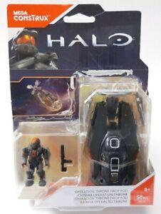 Halo Mega Construx - Operation Throne Drop Pod - FDY37 BNIP