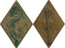 10° Régiment Mixte d'Infanterie Coloniale, losange, bronze, D.Ber.Déposé (C57)