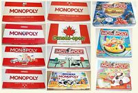 Vintage Monopoly Junior First 1961 1972 1975 1984 1991 1993 1996 Duel Masters