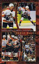 2000/01 Florida Panthers Hockey NHL Media GUIDE