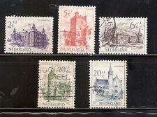 Nederland,  Nummer 568/572  Gebruikt,