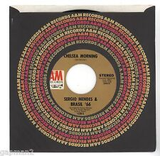 Sergio Mendes 1970 A&M 45rpm Chelsea Morning b/w Where Are You Coming From?